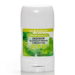 Citromfüves dezodor shea vajból