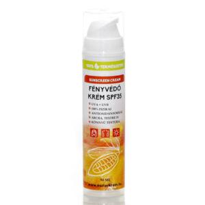 100%-ban természetes fényvédő krém