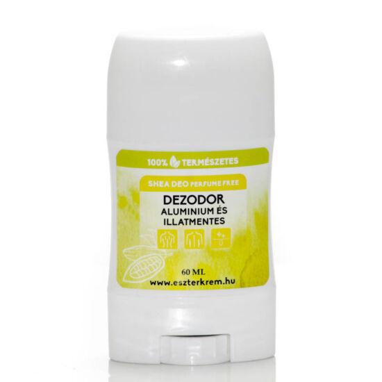 Illatmentes dezodor shea vajból