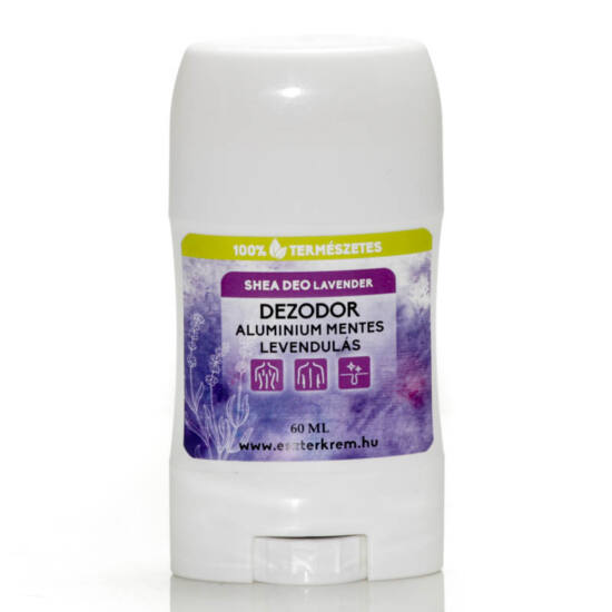 Levendulás dezodor shea vajból