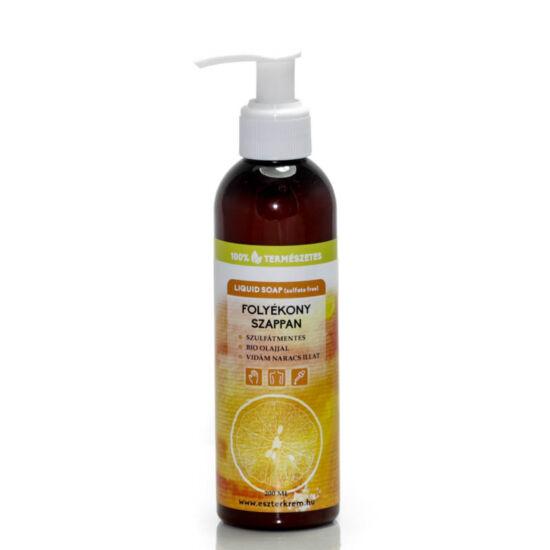 Folyékony szappan bio illóolajjal