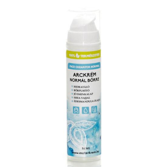 Hidratáló arckrém normál bőrre