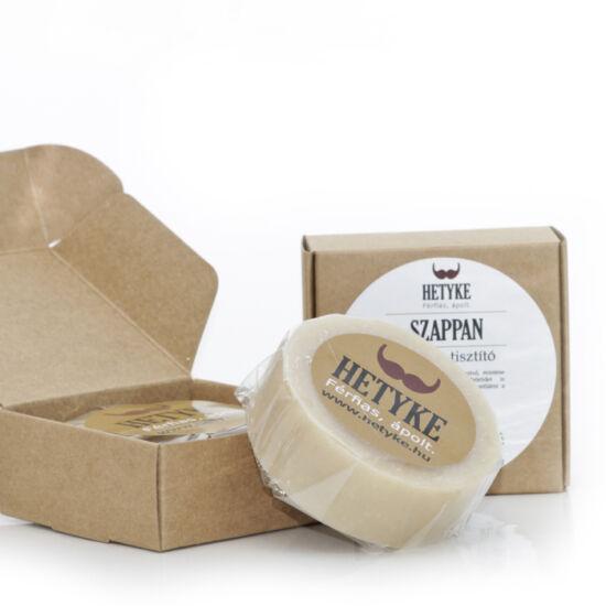 Hetyke - Borotválkozó és arctisztító szappan